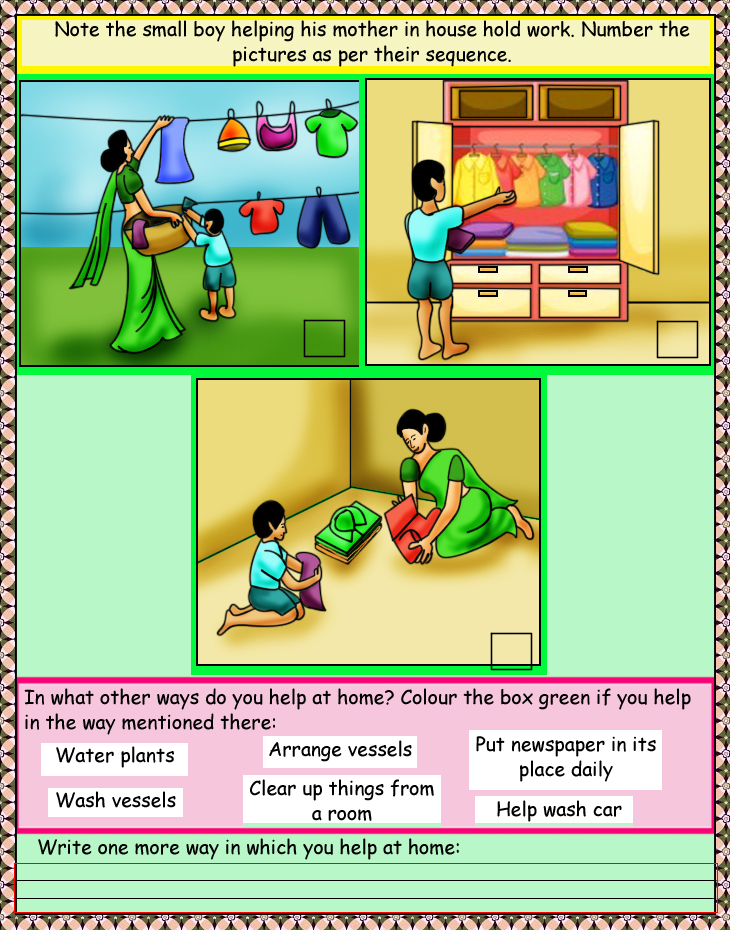 ... Fun with English Worksheets - Upper KG Kids (30 Worksheets