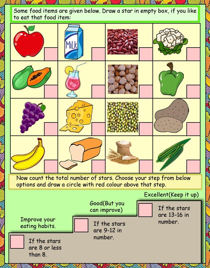 Maths activity worksheets for ukg