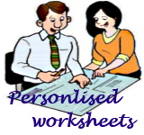 Custom worksheets
